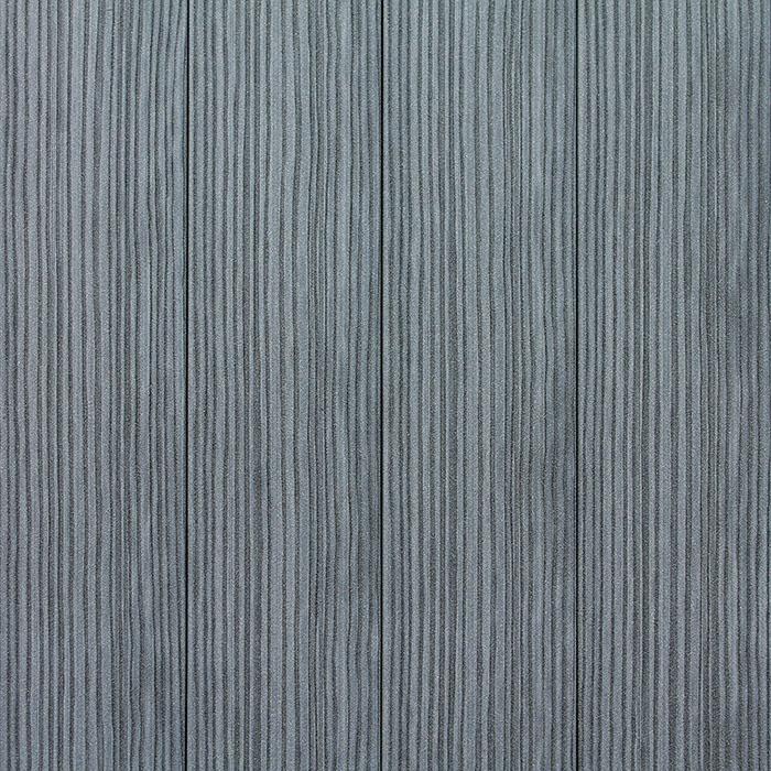 Plastová plotovka - šedá - líc