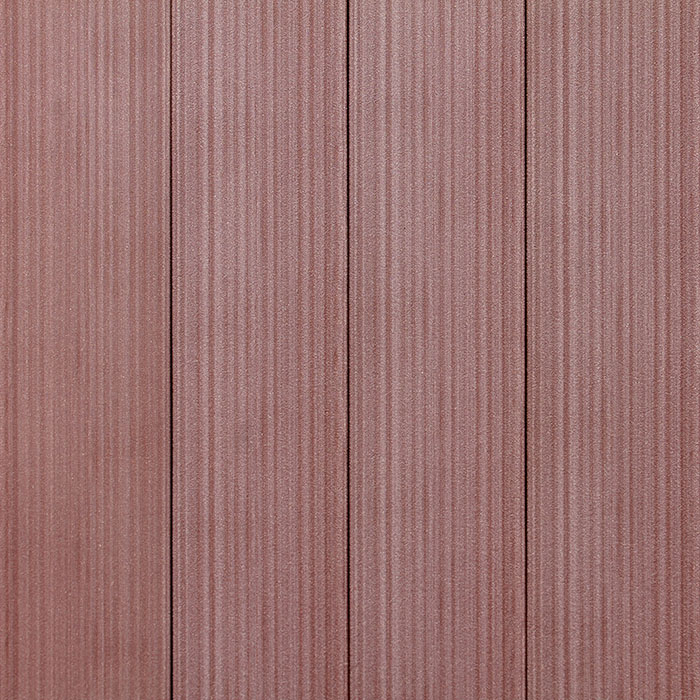 Plastová plotovka - červenohnědá - rub
