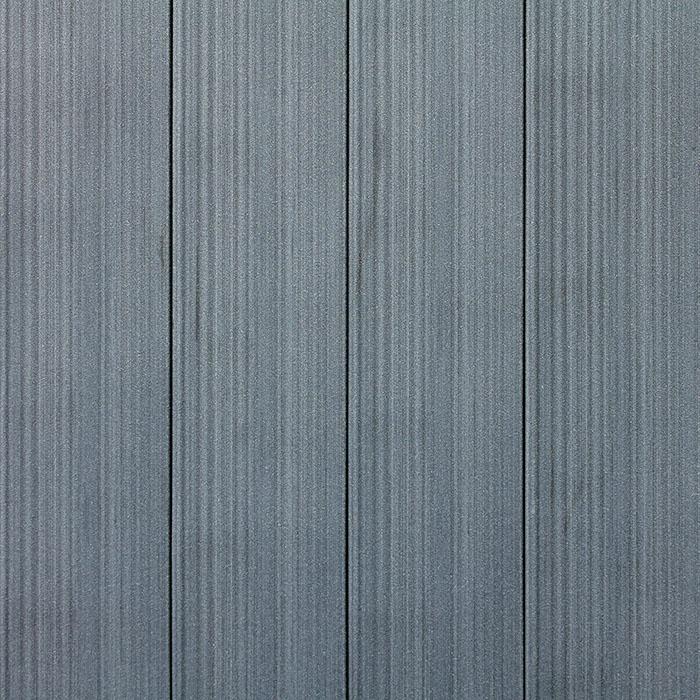 Plastová plotovka - šedá - rub